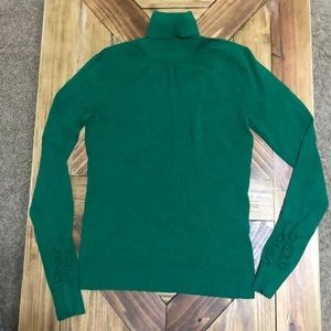 Green Turtleneck Sweater The Limited.